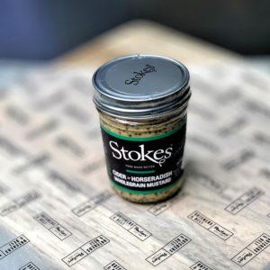 Stokes cider and horseradish mustard