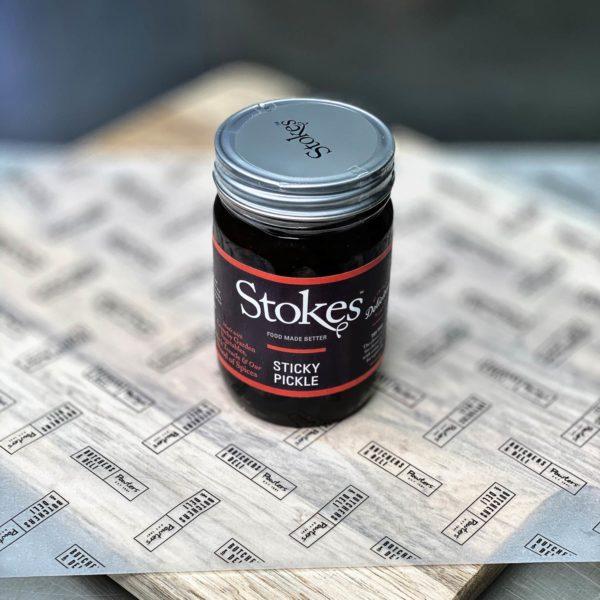 Stokes sticky pickle